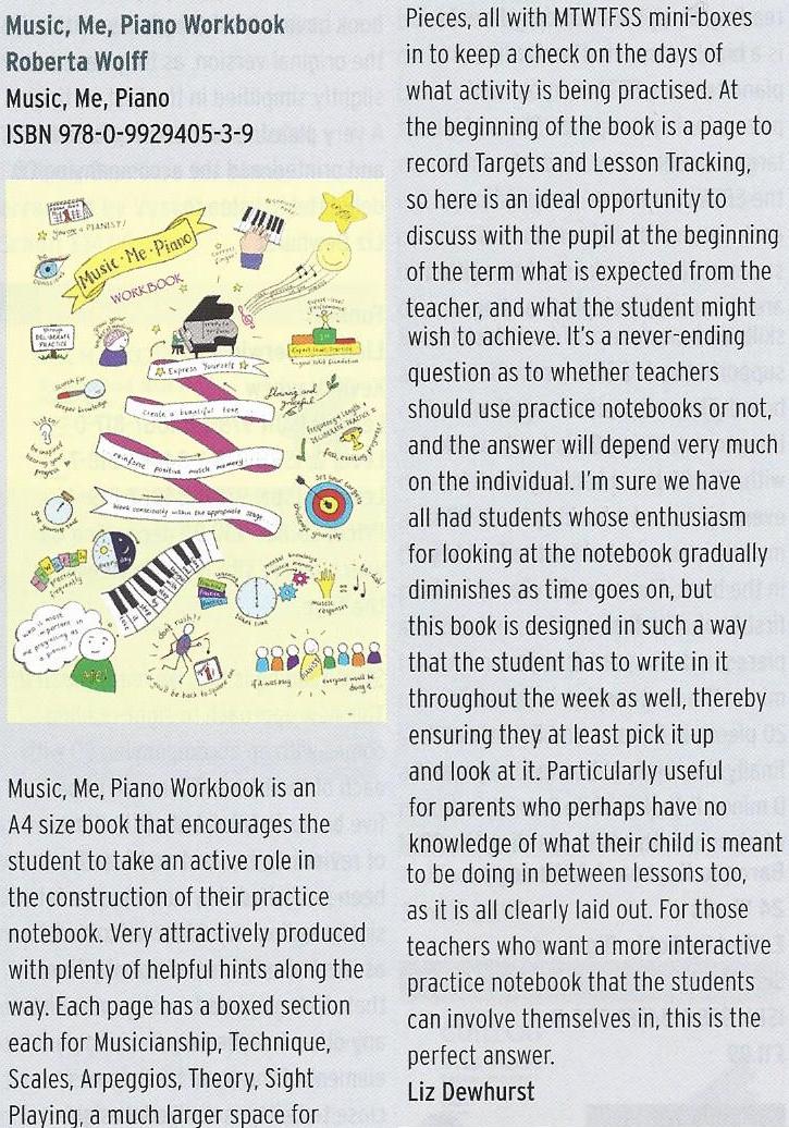 Liz Dewhurst Review Music Me Piano
